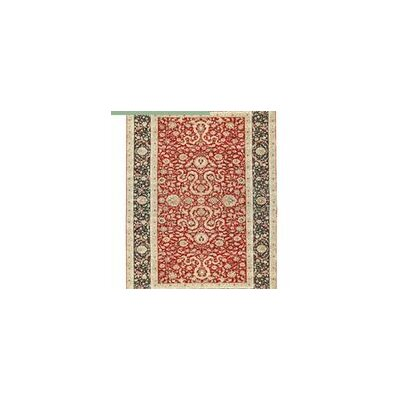 Mountain King Hand Woven Wool Red/Black Area Rug Rug Size: Rectangle 92 x 165