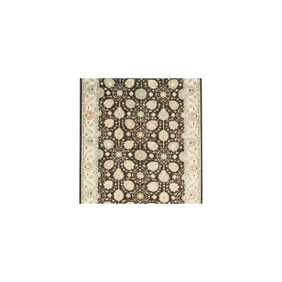 One-of-a-Kind Ziegler Hand-Woven Wool Brown/Beige Area Rug