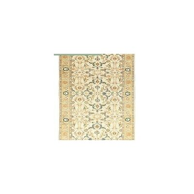 One-of-a-Kind Sultanabad Hand-Woven Wool Beige/Gold Area Rug