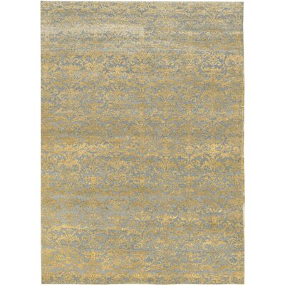 Hand-Woven Silver/Gold Area Rug