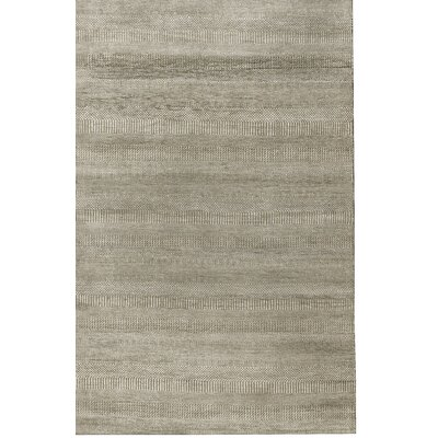 One-of-a-Kind Hand-Woven Gray Area Rug