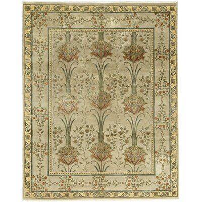 Chantel Hand-Woven Wool Beige/Gold Area Rug