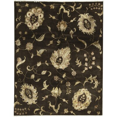 One-of-a-Kind Dharma Hand-Woven Brown/Beige Area Rug