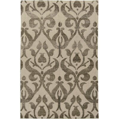 One-of-a-Kind Hand-Woven Beige/Brown Area Rug