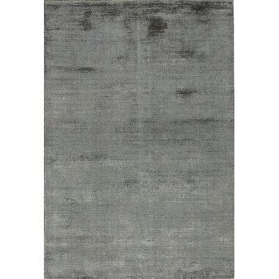 Smokescreen Hand-Woven Charcoal Area Rug