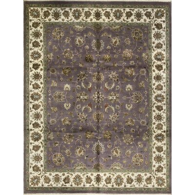 One-of-a-Kind Dharma Hand-Woven Brown/Purple Area Rug