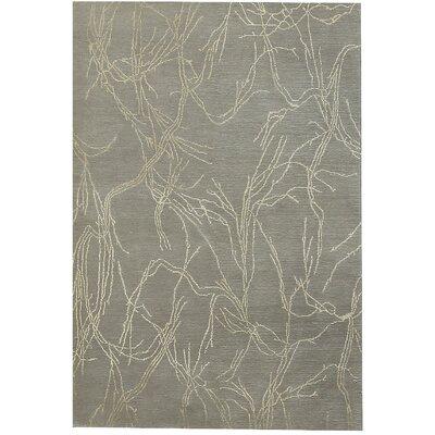 Tibetan Hand-Woven Gray Area Rug