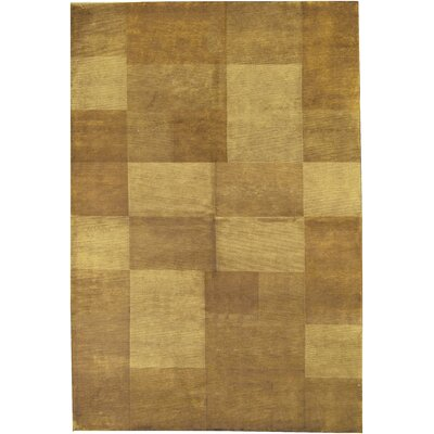 One-of-a-Kind Himalayan Hand-Woven Wool Beige Area Rug