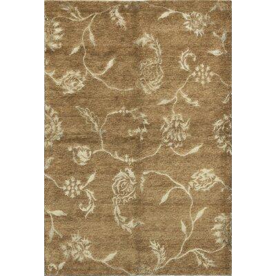 Himalayan Hand-Woven Brown Area Rug
