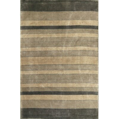 One-of-a-Kind Ecco Hand-Woven Gray/Beige Area Rug