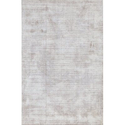 Cloud Hand-Woven Silver Area Rug