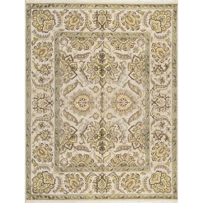 One-of-a-Kind Hand-Woven Blue/Ivory Area Rug