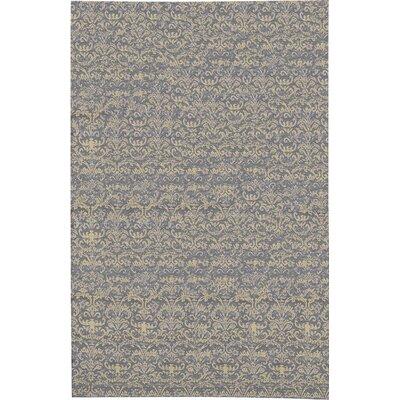 Hand-Woven Gray/Beige Area Rug