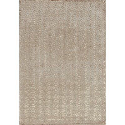 Limitless Dot Hand-Woven Gray Area Rug