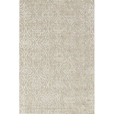 One-of-a-Kind Hand-Woven Beige Area Rug