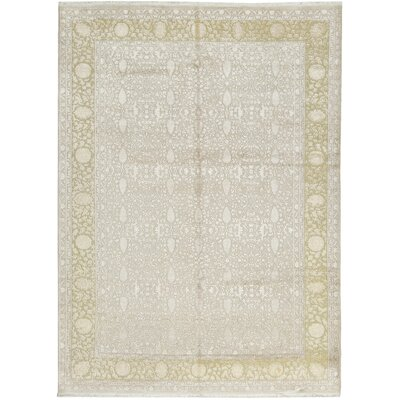 One-of-a-Kind Nirvana Hand-Woven Beige Area Rug