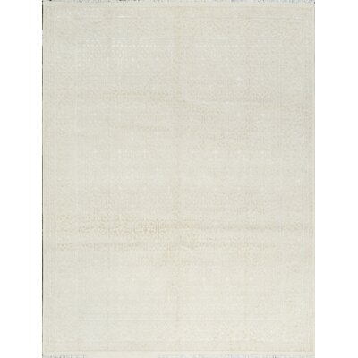 One-of-a-Kind Nirvana Hand-Woven Cream Area Rug