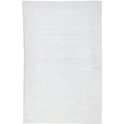 Snow Blanket Hand-Woven White Area Rug