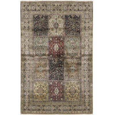 Ziegler Hand-Woven Wool Brown Area Rug