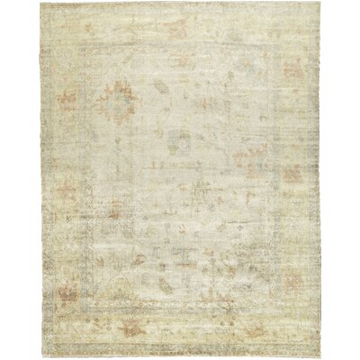 One-of-a-Kind Demirji Hand-Woven Wool Beige Area Rug