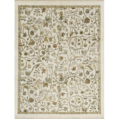 Chantel Hand-Woven Ivory Area Rug