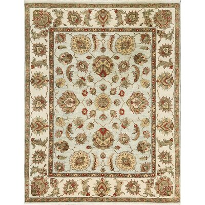 One-of-a-Kind Cornwall Hand-Woven Wool Blue/Brown/Beige Area Rug