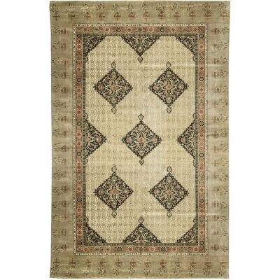 Avalon Hand-Woven Wool Beige/Camel Area Rug