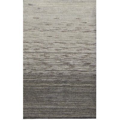 Tiger Stripes Hand-Woven Black Area Rug