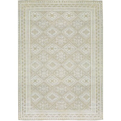 One-of-a-Kind La Ciel Hand-Woven Beige Area Rug