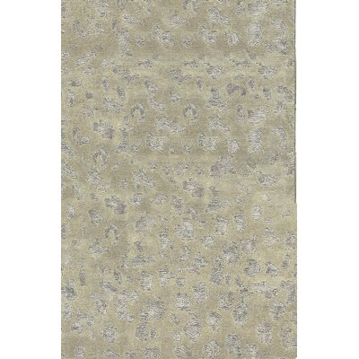 One-of-a-Kind Himalayan Hand-Woven Beige Area Rug