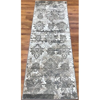 Brinkley Gray/Cream Area Rug