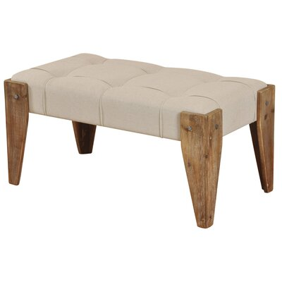 Driftwood Upholstered Bedroom Bench Color: Neutral