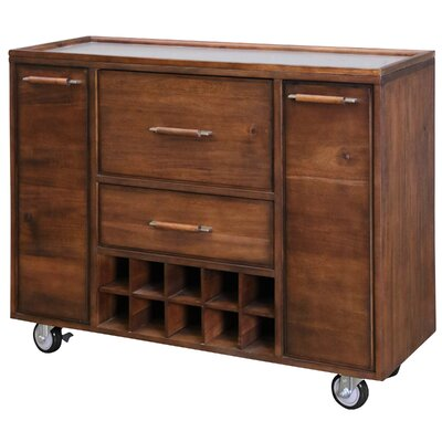 Salvador Mobile Bar Cabinet