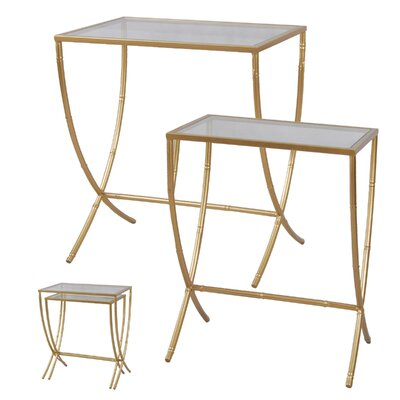 Borja 2 Piece Nesting Tables