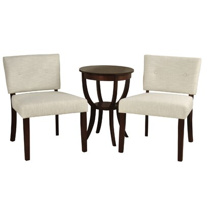 Silvia 3 Piece Living Room Set