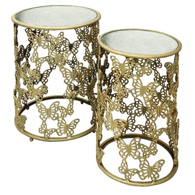 Maryanne Round 2 Piece Nesting Tables