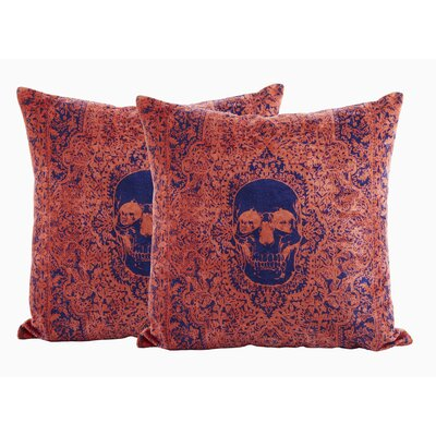 Beveridge 100% Cotton Throw Pillow