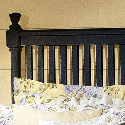 Vaughan-Bassett Cottage Slat Bed - Size: California King, Finish: Black at Sears.com