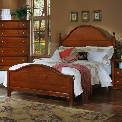 Vaughan-Bassett Cottage Panel Bed - Size: California King, Finish: Cherry at Sears.com