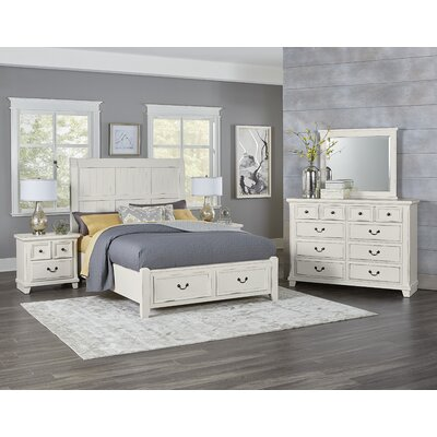 Hanscom Queen Panel Configurable Bedroom Set