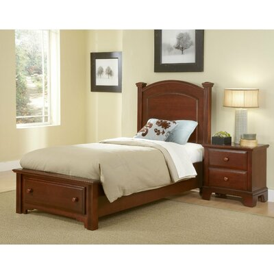 Vaughan-Bassett Hamilton Franklin Youth Panel Bed | Wayfair
