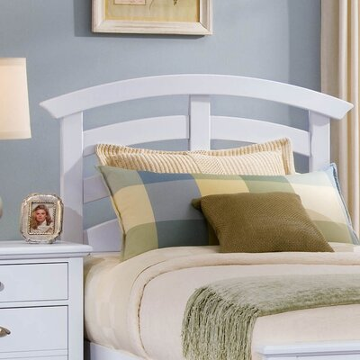 Vaughan-Bassett Twilight Arched Youth Headboard - Size: Full, Finish: Snow White at Sears.com