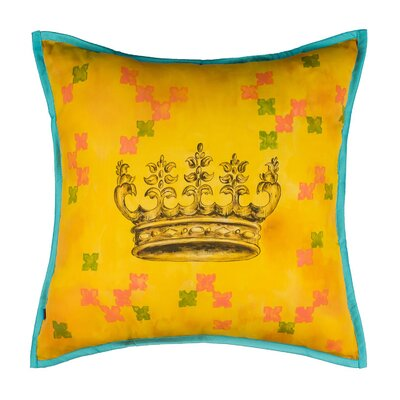 Penwell Glory Queen Imported Valentines Crowning Pillow Cover