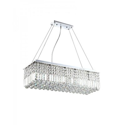 Bracknell 4-Light Crystal Pendant