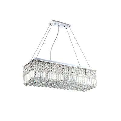 Brunwood 8-Light Crystal Pendant