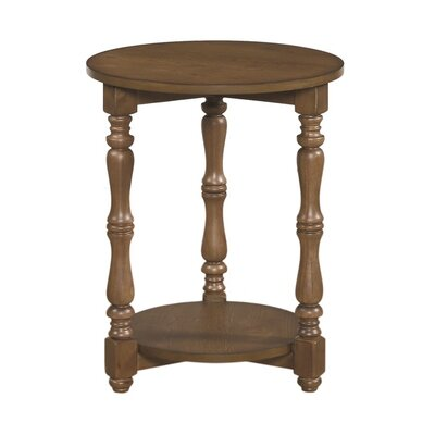 South Mountain Farmhouse End Table Color: White