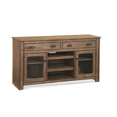 South Mountain Farmhouse 60 TV Stand Color: Acorn
