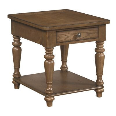 South Mountain Farmhouse End Table Color: Acorn
