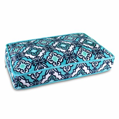 Capri Pillow Bed Size: Large (32 W x 42 D x 5 H)