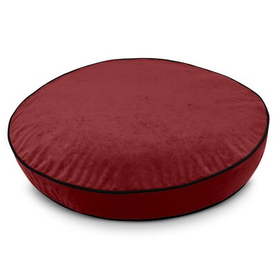Round Classic Dog Bed Size: Medium (28 W x 28 D x 5 H), Color: Wine